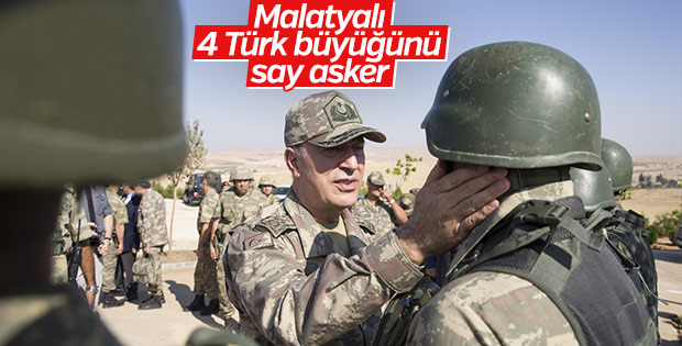Akar'dan askere 'Malatya'daki en büyük Türk kim' sorusu