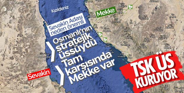 TSK, Sevakin Adası'na üs kuracak