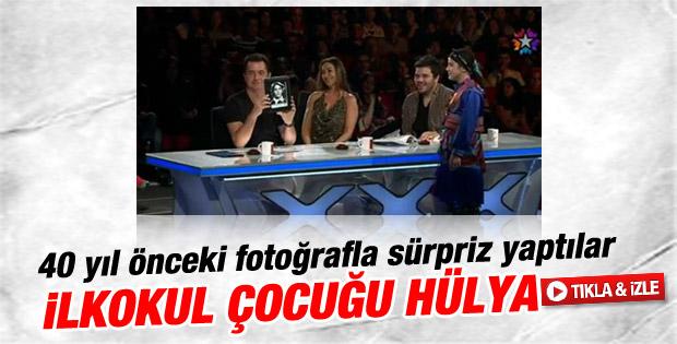 Yetenek Sizsiniz'de Hülya Avşar'a sürpriz - izle