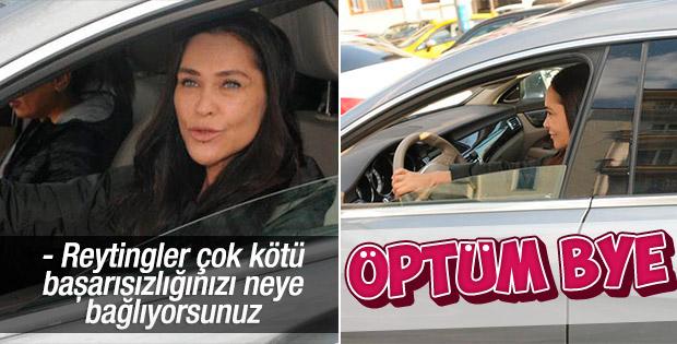 Hülya Avşar reyting sorusunu duymamazlıktan geldi