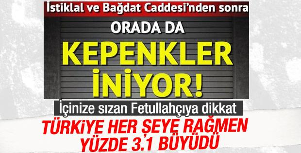 Hürriyet Türkiye batıyor haberlerini bırakmıştı sanıyorduk