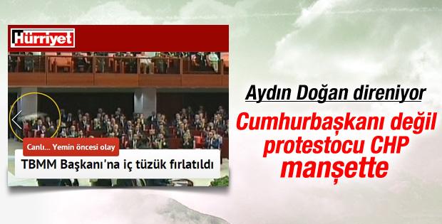 Hürriyet Erdoğan'ın Köşk'e çıkışını küçük gördü