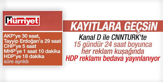 Aydın Doğan medyası HDP'ye çalışıyor