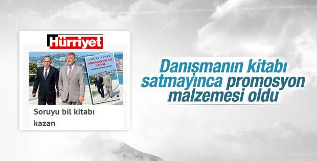 Hürriyet soruyu bilene Ahmet Sever'in kitabını verecek