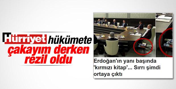 Hürriyet'in kırmızı kitap yalanı