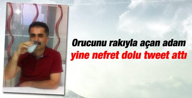 Hüseyin Aygün'den bir nefret tweeti daha