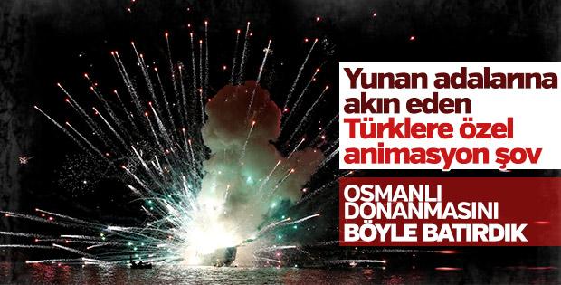 Yunan adası Hydra'da Osmanlı'ya karşı zafer kutlaması