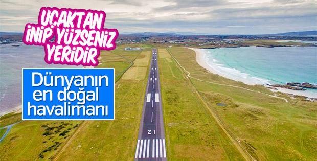 Dünyanın en doğal havalimanı