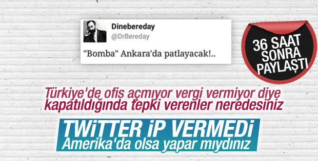 Twitter Ankara saldırısıyla ilgili bilgi paylaşımını geciktirdi