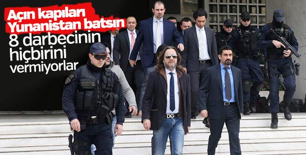 Yunan mahkemesinden darbeciler hakkında karar