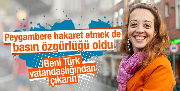 Ebru Umar Türk vatandaşlığından çıkıyor