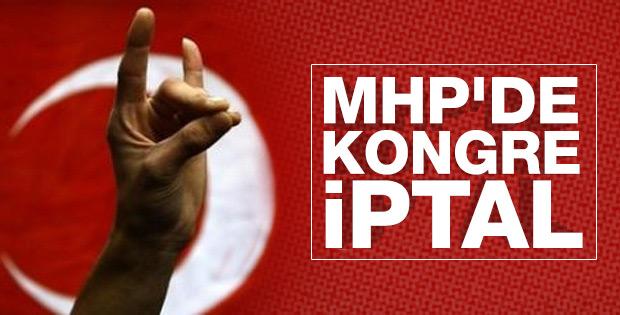 Mahkeme MHP'deki kongre sürecini durdurdu