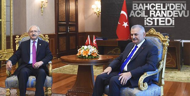 Binali Yıldırım Kılıçdaroğlu ile görüştü