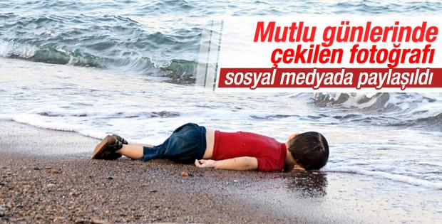 Bodrum'da kıyıya vuran mülteci çocuğun fotoğrafları ortaya çıktı