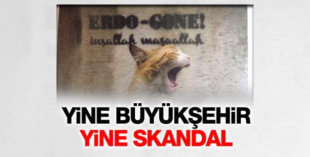 İBB'nin dergisinde Erdoğan'ı hedef alan fotoğraf