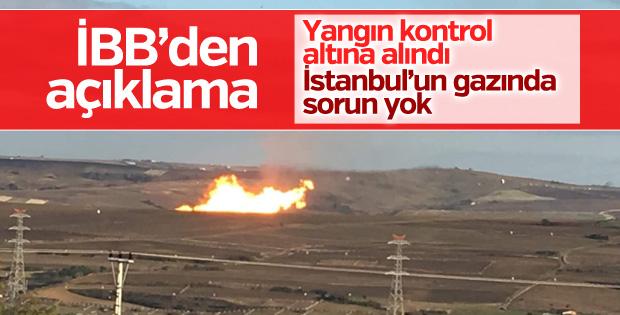İBB'den açıklama: İstanbul'un gaz dağıtımı etkilenmedi