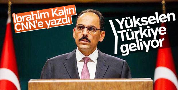 İbrahim Kalın CNN'e anayasal reformla ilgili bilgi verdi