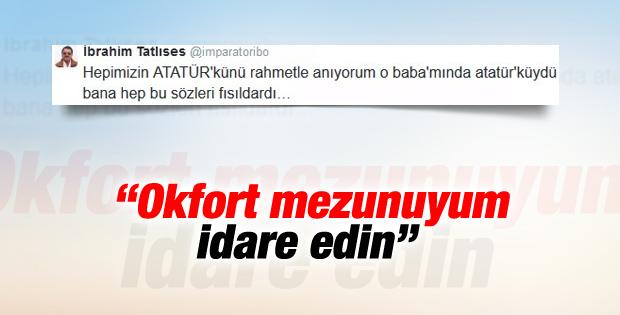 İbrahim Tatlıses'e Atatürk tepkisi