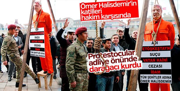 Şehit Halisdemir'in katillerine idam ipi atıldı