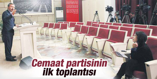 İdris Bal basın toplantısını yalnız yaptı
