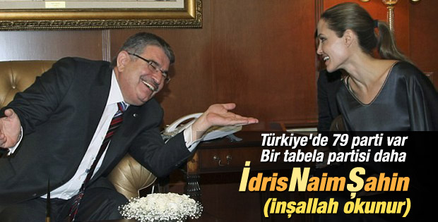 İdris Naim Şahin'in partisi kuruluyor