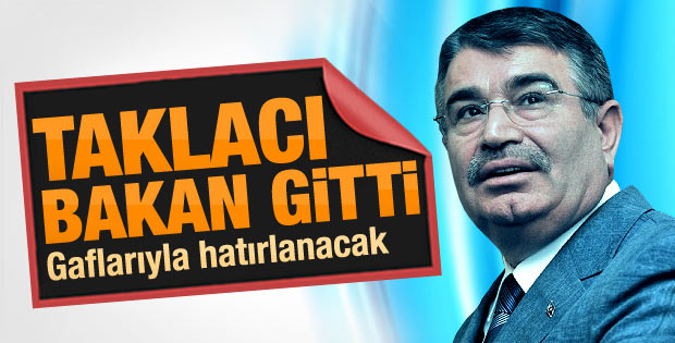 İçişleri Bakanı İdris Naim Şahin çizik yedi