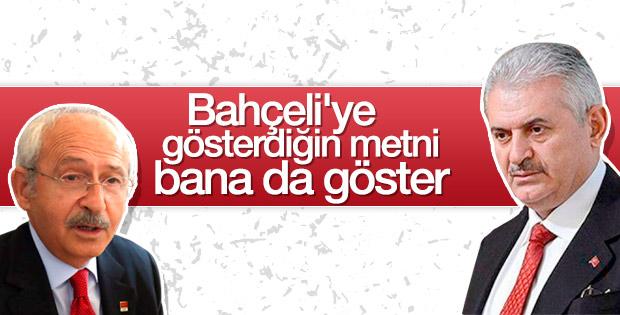 Kemal Kılıçdaroğlu: Başbakan'a kapımız açık