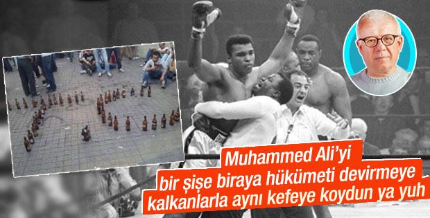 Ertuğrul Özkök'e göre Muhammed Ali ilk geziciydi