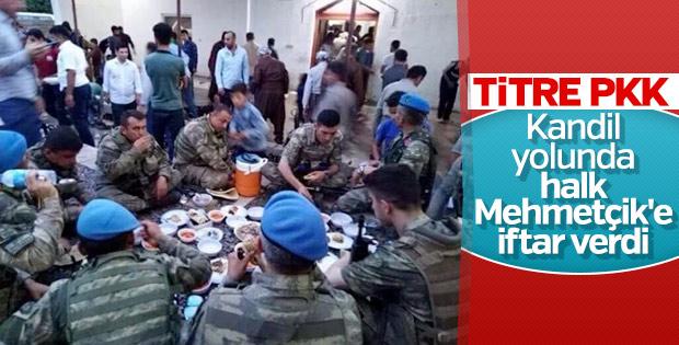 Kuzey Irak'ta PKK operasyonuna halk desteği