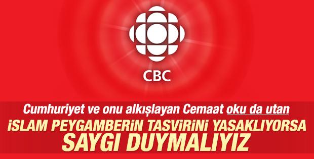 Kanada'da CBC'den Charlie Hebdo resti