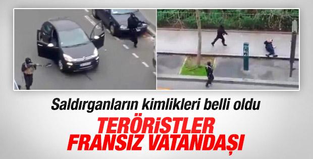 Paris'te dergiye saldıranların kimlikleri belli oldu