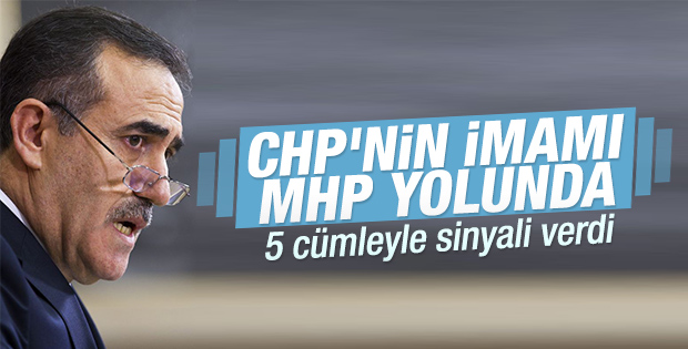 CHP'den istifa eden İhsan Özkes MHP'ye göz kırptı