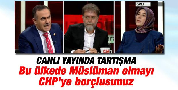 İhsan Özkes: Bu ülkede Müslüman olmayı CHP'ye borçlusunuz