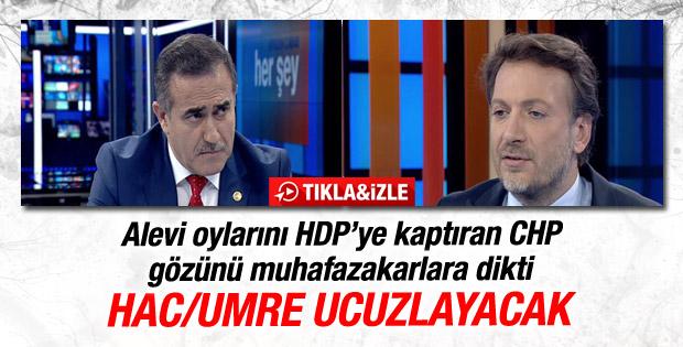 CHP'nin müftü vekili İhsan Özkes: Hac ve umre ucuzlayacak