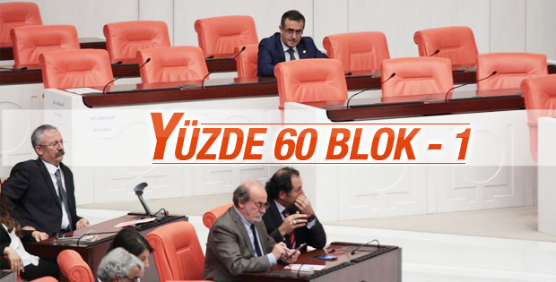Meclis'te yüzde 60'lık blok birleşti