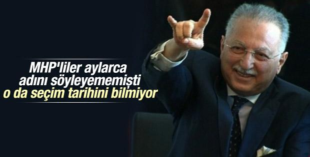 Ekmeleddin İhsanoğlu seçim tarihini yanlış söyledi
