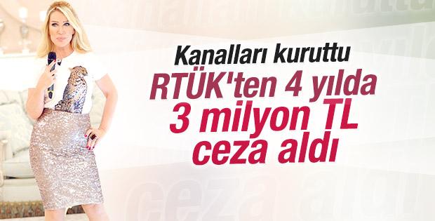 RTÜK'ten Seda Sayan'a 3 milyon ceza