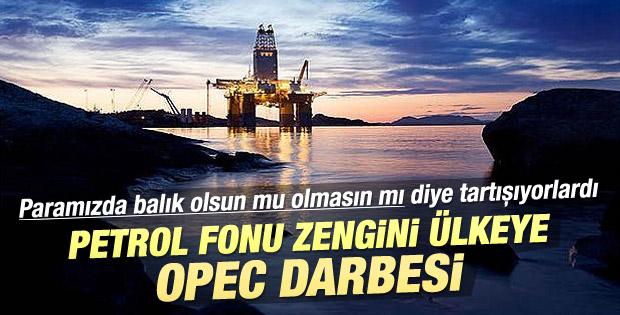OPEC kararı petrol fonu zengini Norveç'i de vurdu