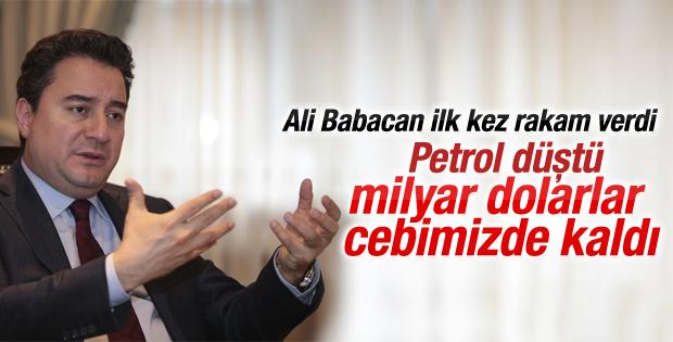 Babacan petroldeki düşüşün Türkiye'ye etkisini açıkladı