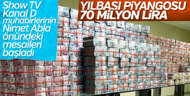 Milli Piyangonun büyük ikramiyesi 70 milyon lira