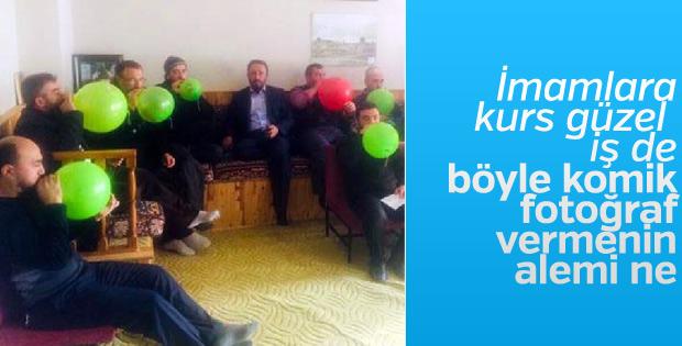 Yozgat'ta imamlara Ezanı Güzel Okuma kursu