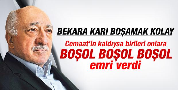 Fethullah Gülen'den boşol çağrısı İZLE