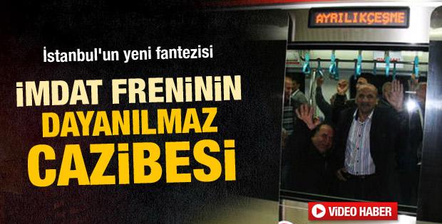 Marmaray'da seferler yine durdu - izle