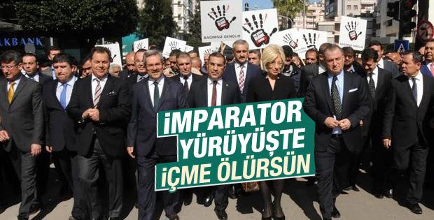Fatih Terim uyuşturucu karşıtı yürüyüşe katıldı