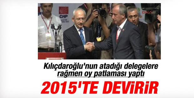 Kılıçdaroğlu Muharrem İnce'ye 200 delege kaptırdı
