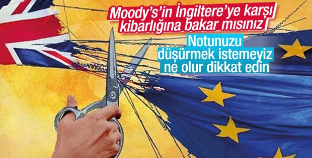 Moody's'ten İngiltere'ye uyarı