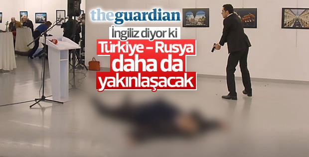 Guardian'dan Rus Büyükelçi'ye suikast yorumu