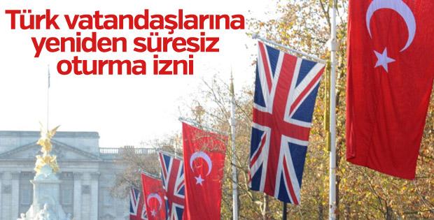 İngiltere, Türklere yeniden süresiz oturma izni veriyor