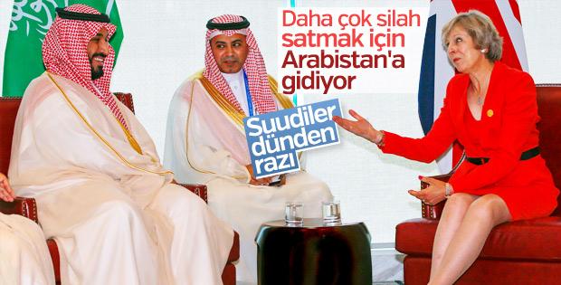 İngiltere Suudilerle ilişkileri güçlendirmek istiyor