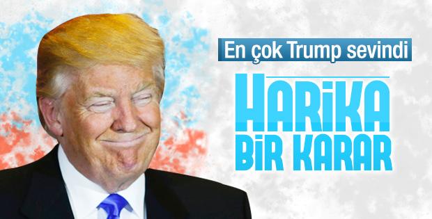 Trump İngiltere'nin ayrılık kararı nedeniyle mutlu